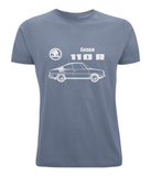 "Classic Cut Jersey Men's T-Shirt ""Skoda 110R"""