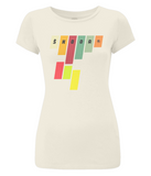 "Women's Slim-Fit Jersey T-Shirt ""Skoda"""