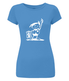 "Women's Slim-Fit Jersey T-Shirt ""Skála Kópé"""