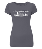 "Women's Slim-Fit Jersey T-Shirt ""Mikroelektronik"""