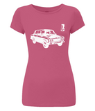 "Women's Slim-Fit Jersey T-Shirt ""VAZ-2106"""