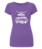 "Women's Slim-Fit Jersey T-Shirt ""UAZ 452"""