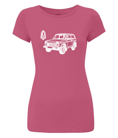 "Women's Slim-Fit Jersey T-Shirt ""VAZ-2121"""