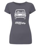 "Women's Slim-Fit Jersey T-Shirt ""Polski Fiat 125p"""