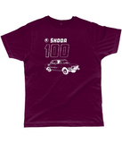 "Classic Cut Jersey Men's T-Shirt ""Skoda 100"""