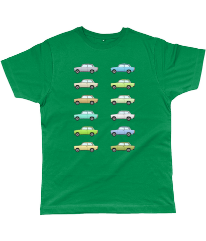 Trabant T-shirt farben colours