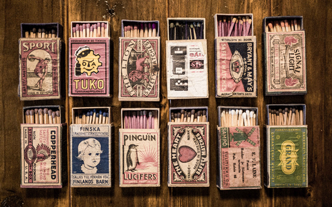 Matchboxes from my grandfathers collection