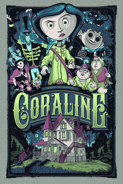 Coraline Poster Variant