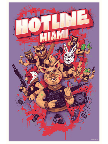 Hotline Miami - Graham Erwin