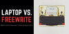Laptop vs. Freewrite: An Infographic