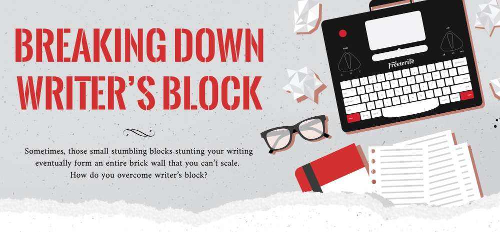 Breaking Down Writer's Block : An Infographic
