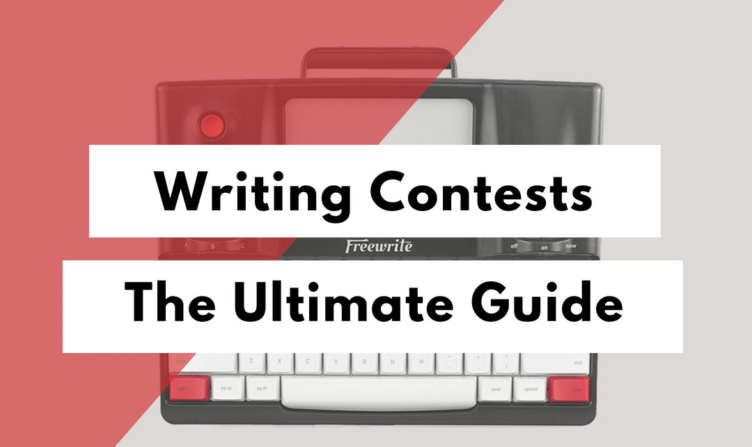 2019 Writing Contests The Ultimate Guide Freewrite Store