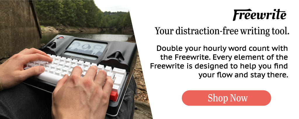 Freewrite Distraction Free Smart Typewriter