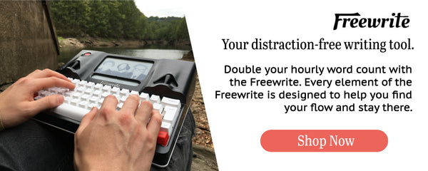 Freewrite - Distraction-free Smart Typewriter