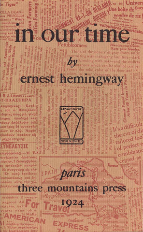 in our time ernest hemingway