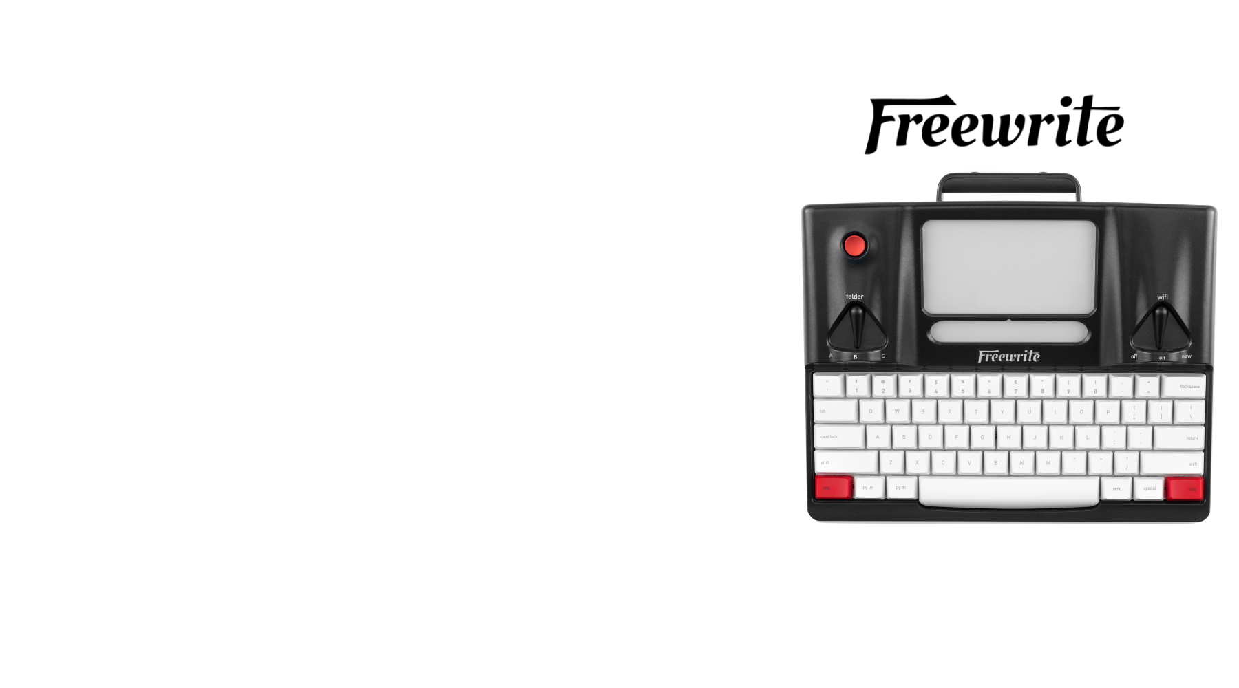 Freewrite is the solution to a distracted workflow
