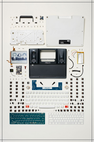 freewrite disassembled by todd mclellan