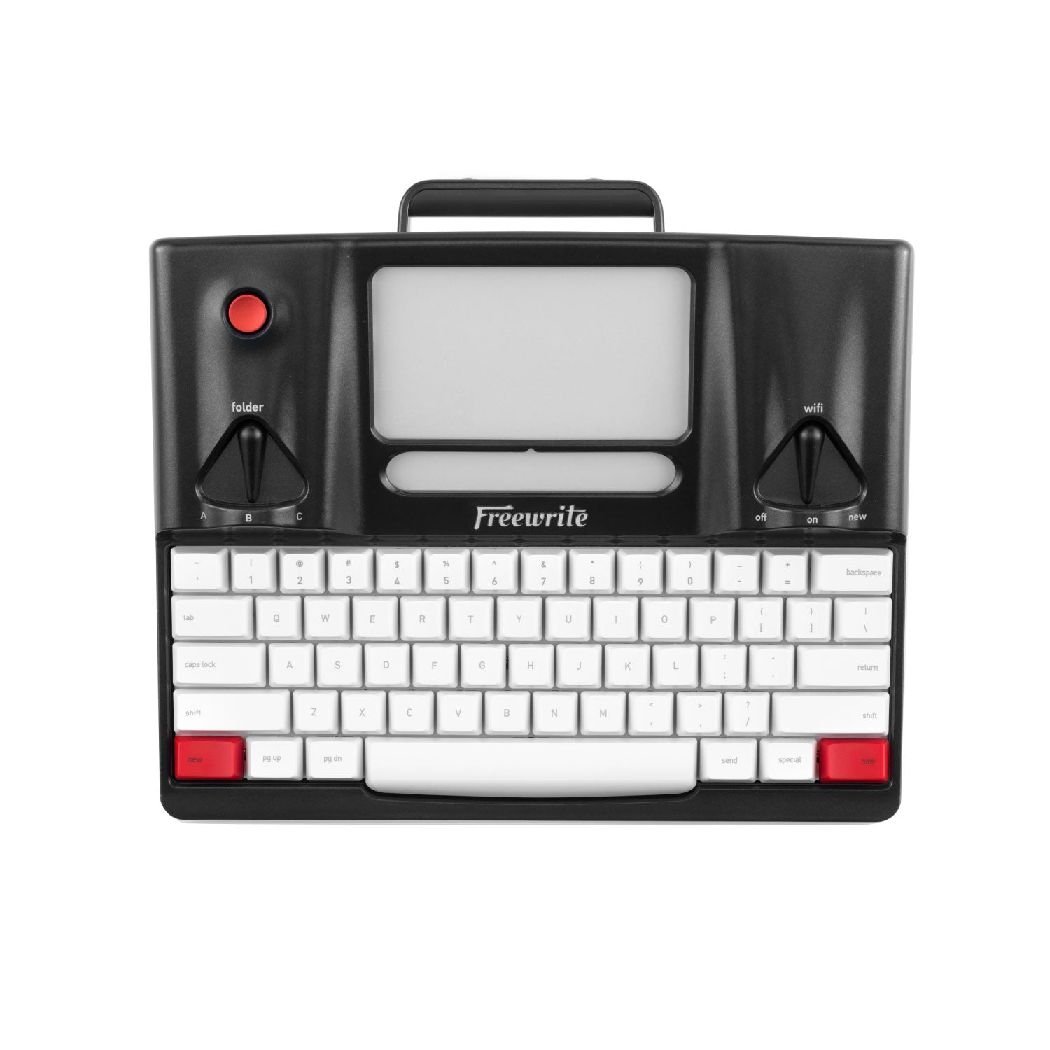 Freewrite Smart Typewriter top view