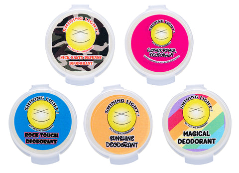Shining Light Deodorant Samples