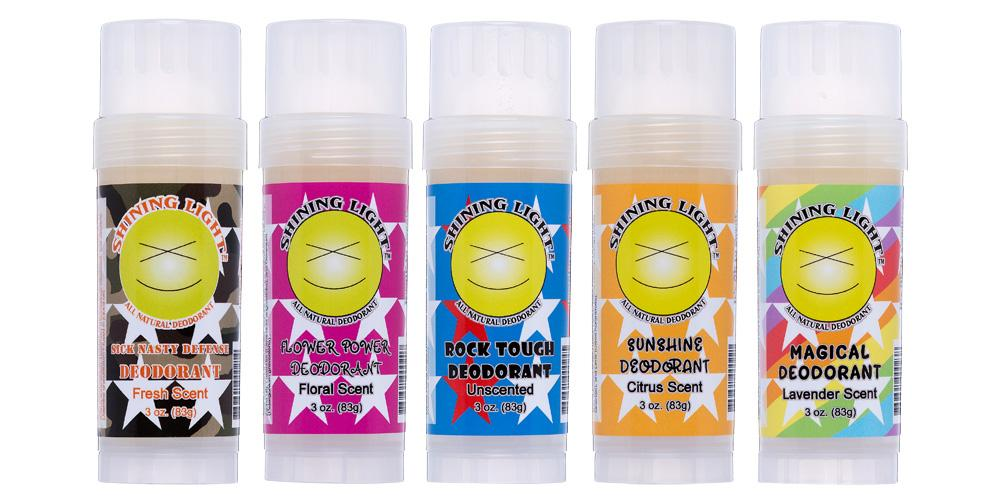 Shining Light All Natural Deodorant