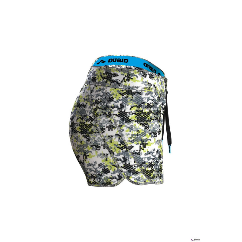 Arena Womens Gym Short Camou