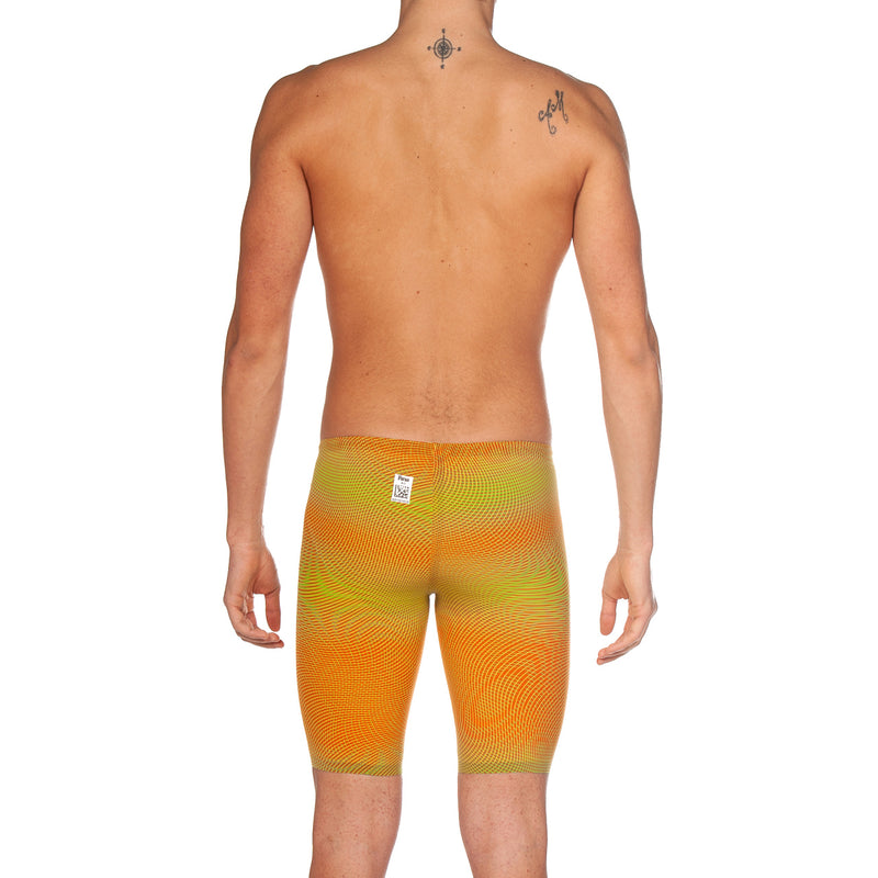 Arena M Carbon Air2 Jammer - Lime-Orange-Gold