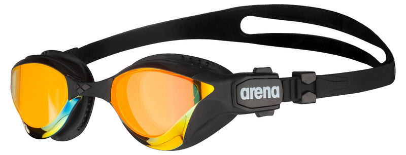 Arena Cobra Tri Swipe Mirror Yellow Copper-Black