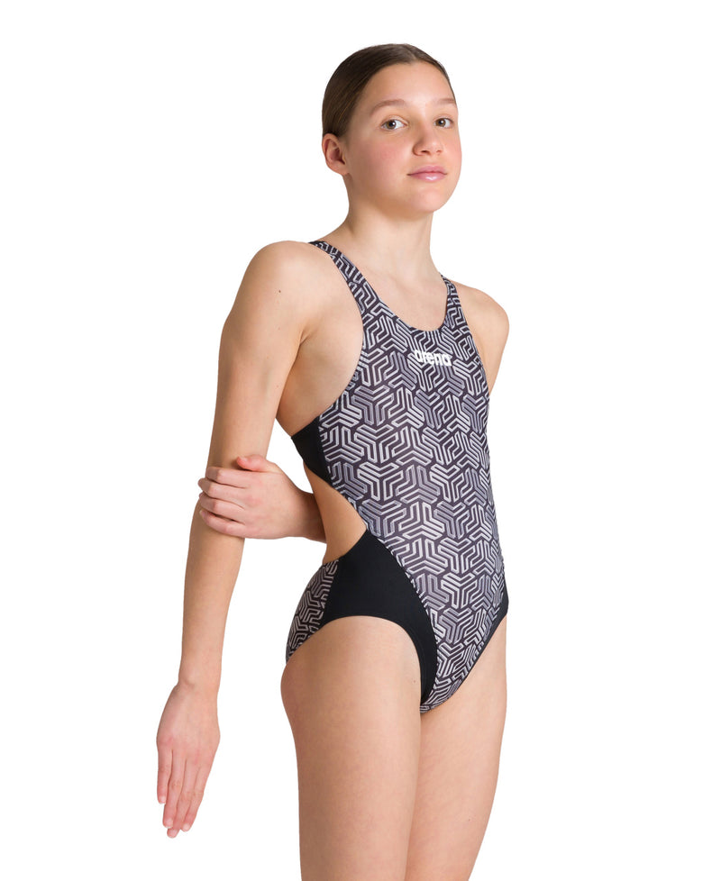 Arena Girls Sports Swimsuit Kikko - Black