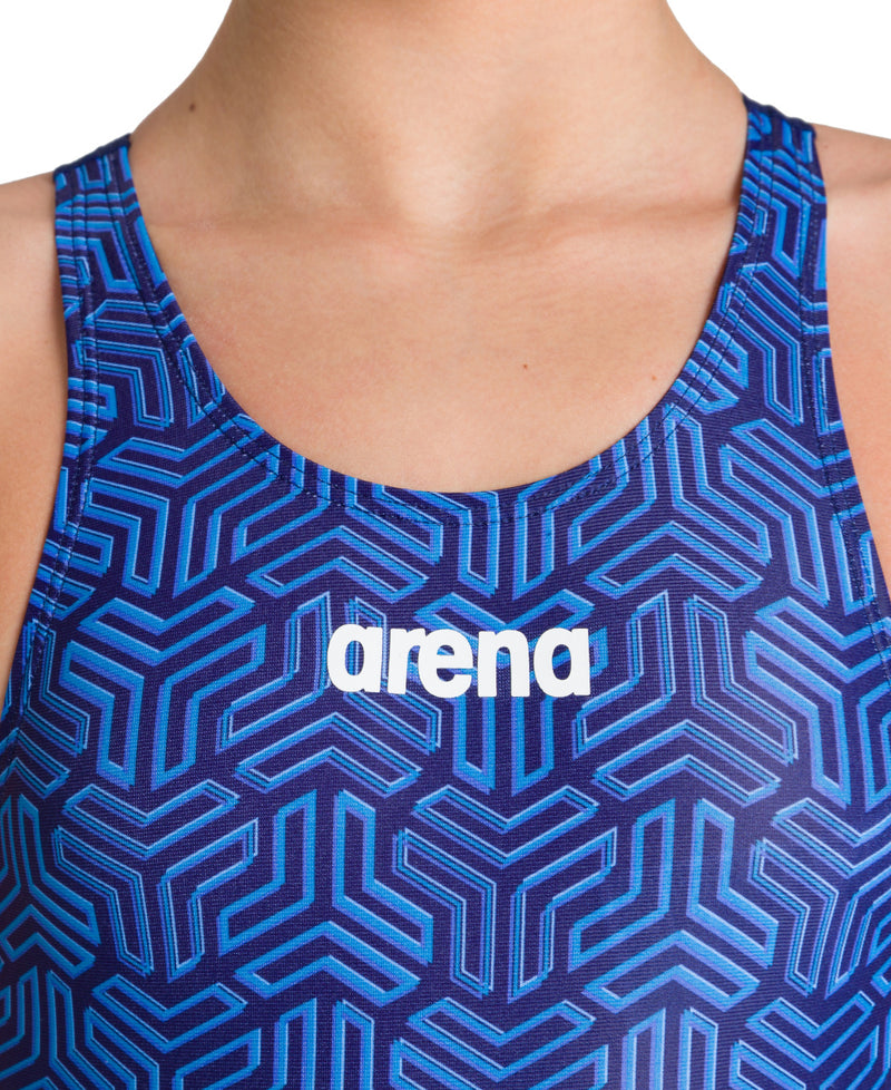 Arena Girls Sports Swimsuit Kikko - Navy