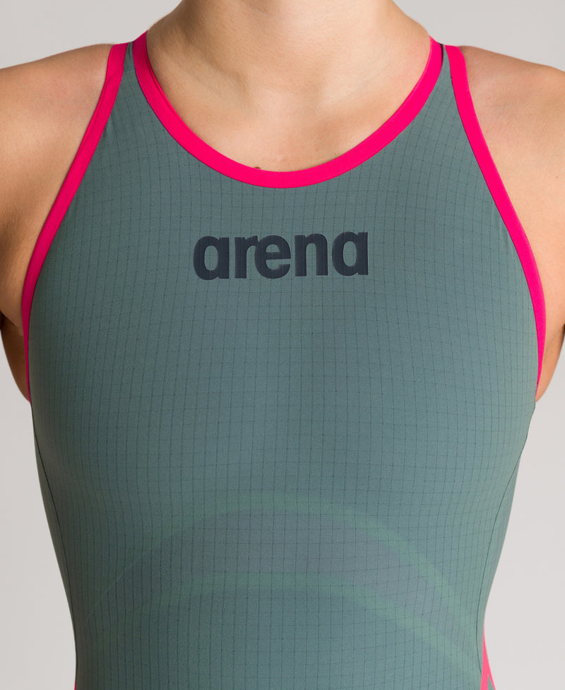 Arena W Powerskin Carbon Core FX FBSLOB Army Green