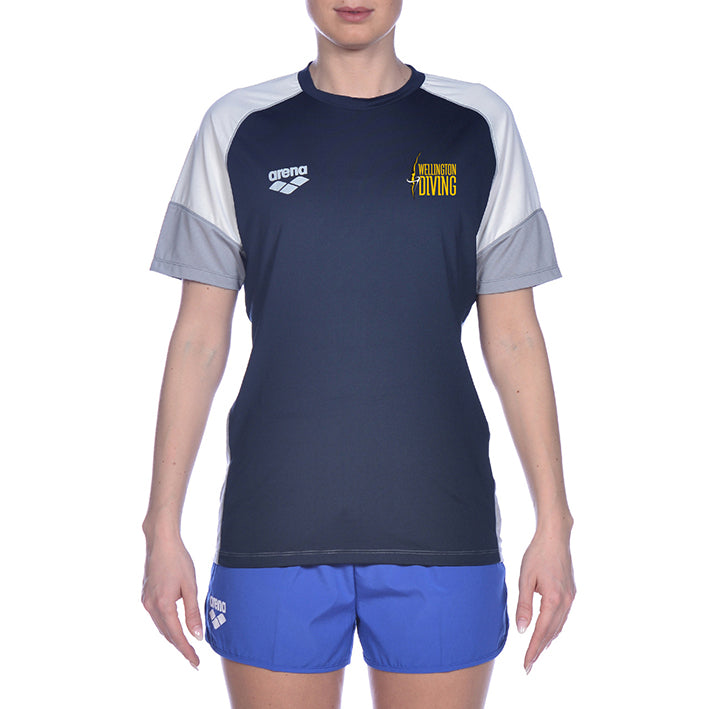Wgtn Dive Senior Club Tech Raglan T-Shirt