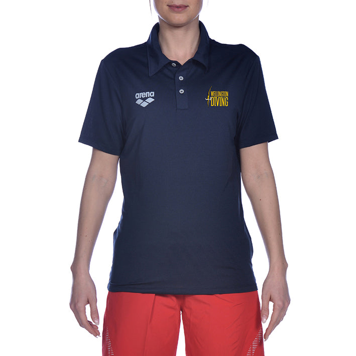 Wgtn Dive Coaches Tech Short Sleeve Polo