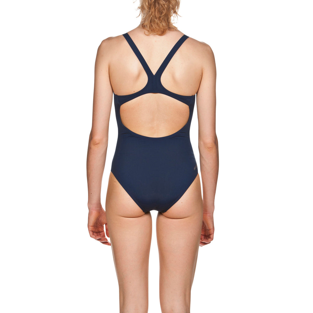Arena Women's Solid Swim Pro Navy