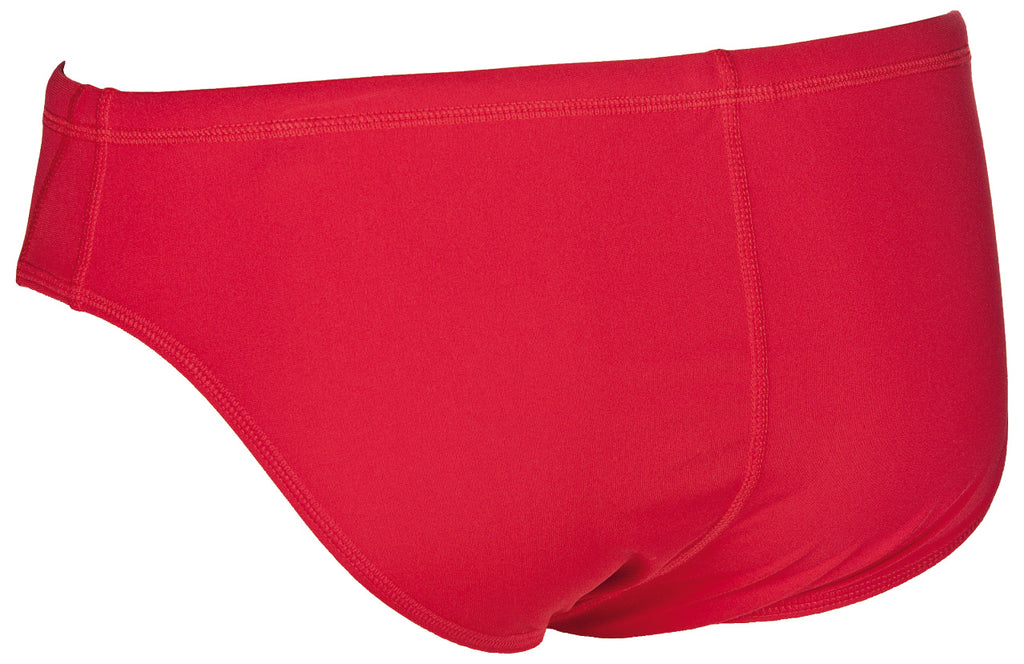 Arena Mens Solid Briefs Red