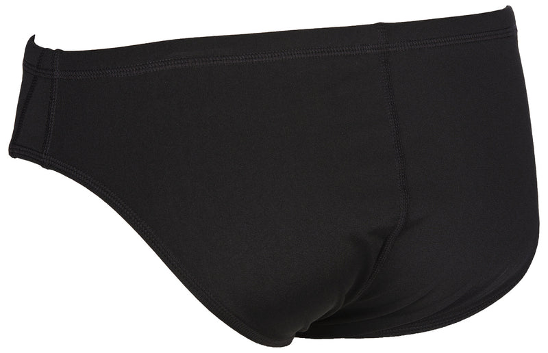 Arena Mens Solid Briefs Black