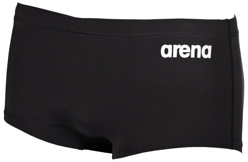 Arena Men's Solid Squared Short Black