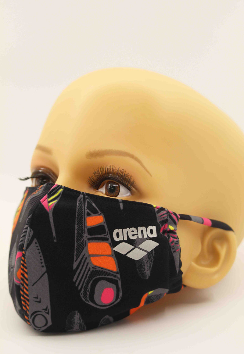 Arena Face Mask Black Camo