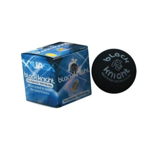 Black Knight Tru Bounce Squash Balls Double Dot