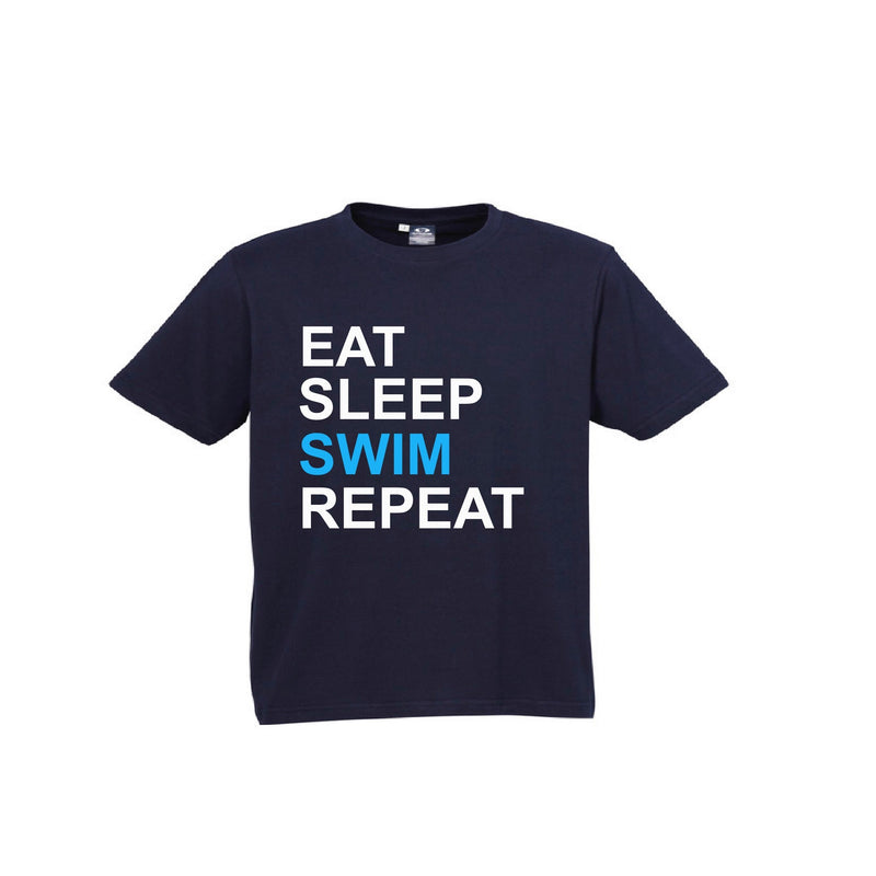 Eat Sleep Swim Repeat T-Shirt