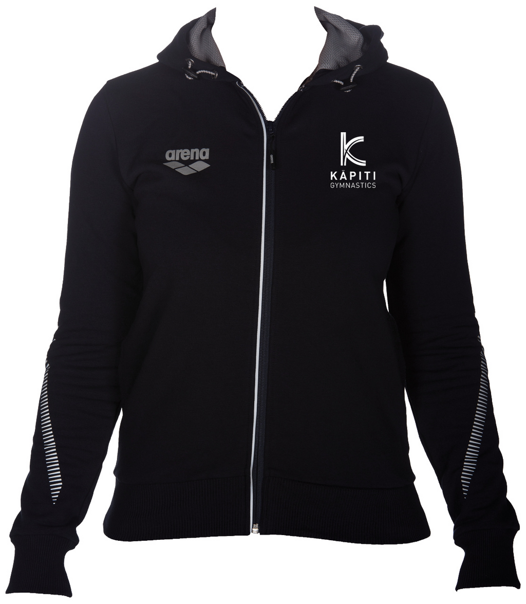 Kapiti Gymnastics Womens Members Zipped Jacket