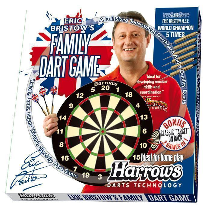Harrows G51054     ~ HARROWS BRISTOW FAM. DART GAME New zealand nz vaughan