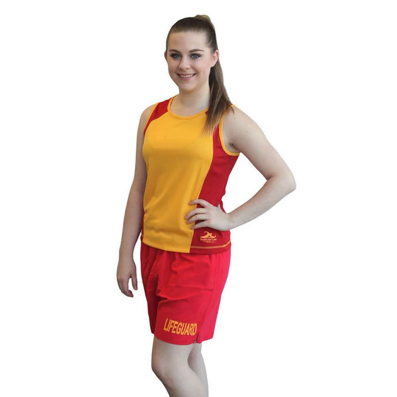 Women's Lifeguard Singlet