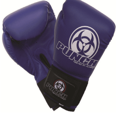 Punch Equipment 9011043    ~ URBAN JNR BOXING GLOVE 4oz BLU New zealand nz vaughan
