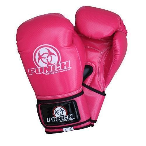 90205     ~ TROPHY GET GLOVES PINK/BLACK