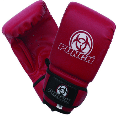 Punch Equipment MULTI-ITEM 901125     ~ URBAN BOXING GLOVES RED New zealand nz vaughan