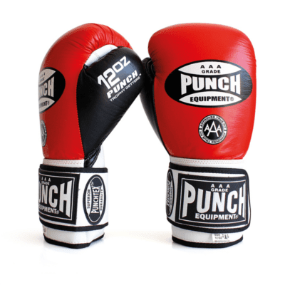 Punch Equipment MULTI-ITEM 902025     ~ TROPHY GET GLOVES RED/WHITE New zealand nz vaughan