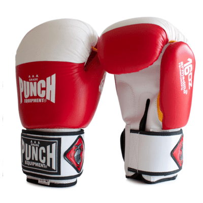 Punch Equipment MULTI-ITEM 902325     ~ ARMADILLO GLOVES RED/WHITE New zealand nz vaughan