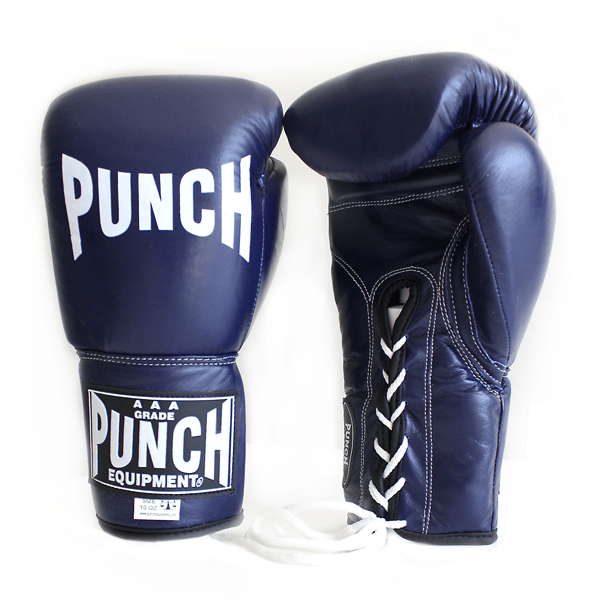 Punch Equipment MULTI-ITEM 90282     ~ LACE UP TROPHY COMP BLUE
