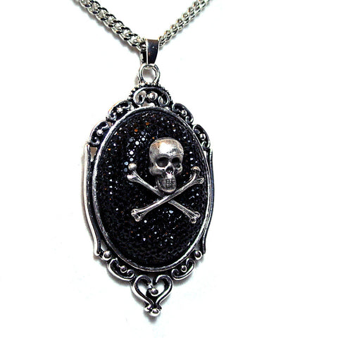 Skull and Crossbones Rhinestone Holiday Special
