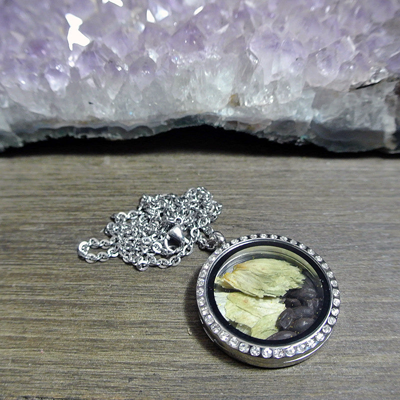 The ALEchemy Line Glass Locket Necklace (The Stout)